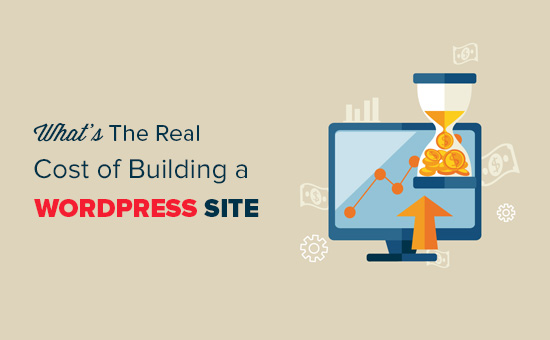 How much does it really cost to build a wordpress website for Website building cost