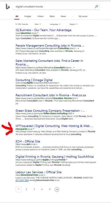 Rank on the first page of Google