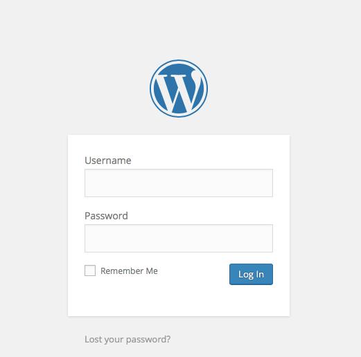 Step 1: Login into WordPress Website