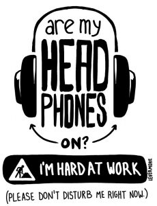 hacks to become a better entrepreneur headphones