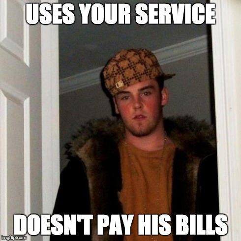 Scumbag customers
